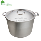 mc2 20 quart stock pot with lid